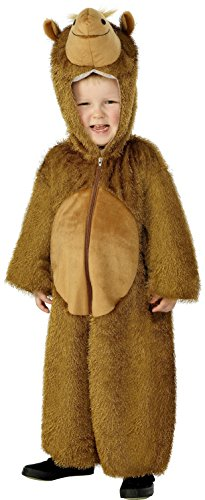 smiffys-childrens-unisex-all-in-one-camel-costume-jumpsuit-with-hood-party-animals-sizes-colour-brow