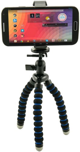 Universal Smartphone Holder And Flexible Mini Tripod For Iphone 6 Plus Iphone 6 5C 5S Samsung Galaxy Note 4 3 2 S5 S4 Lumia
