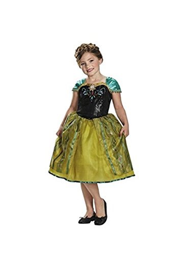 Target Exclusive Disney Anna Frozen Deluxe Child Costume