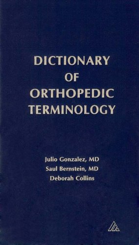 Dictionary of Orthopedic Terminology