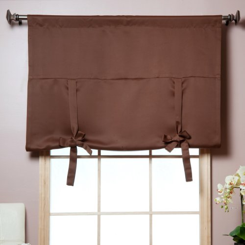 Details about NEW Tie-Up Shade Insulated Thermal Blackout Window Shade ...