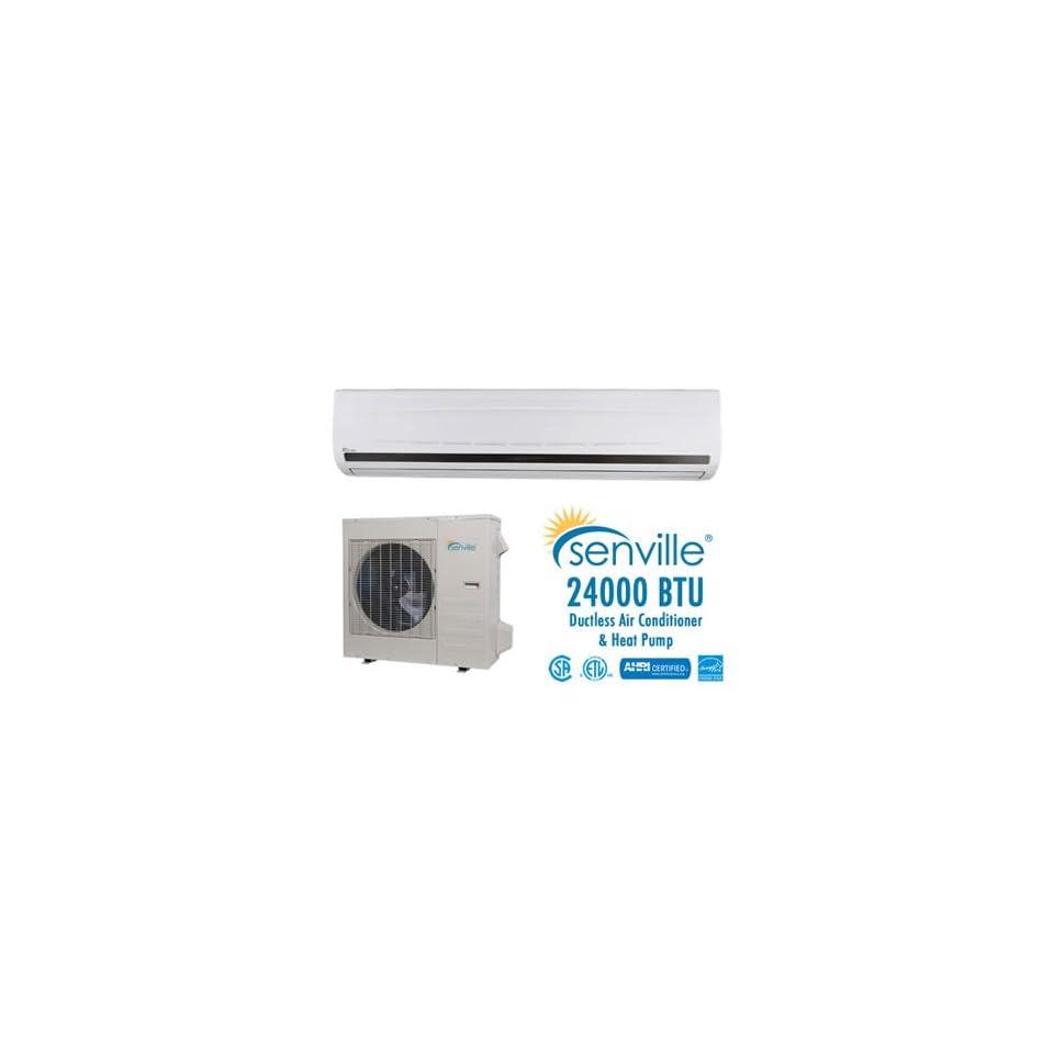 Senville 24000 BTU Ductless Air Conditioner & Heat Pump