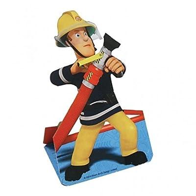 8-teiliges Einladungskarten-Set * FEUERWEHRMANN SAM * für Party und Geburtstag // Feuerwehr Fire Fighter Fireman Einladungen Invites Einladungskarten