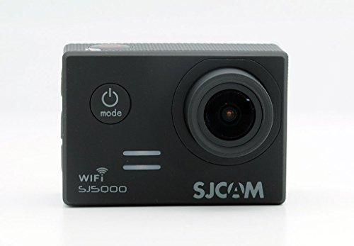 SJCAM ORIGINAL WIFI SJ5000 Action Sport Cam Camera Waterproof Full HD 1080p Video Helmetcam, Nera