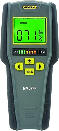Mmd7Np-Non-Penetrating Lcd Moisture Meter W/Tricolor Bar Graph