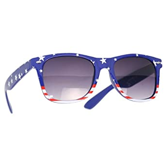 """USA"" American Flag Sunglasses (Stars and Stripes)"