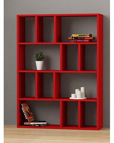 Decortie Librería Donie Rojo
