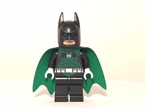 Custom Lego Green Lantern Batman Minifig Dc Comics Super Hero Justice League Darkest Knight (Lego Batman Decals compare prices)