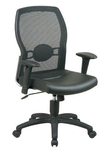 Office Star Work Smart Woven Mesh Back Chair