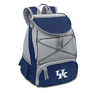 NCAA Kentucky Wildcats PTX Insulated Backpack Cooler, Navy, Regular by Picnic Time