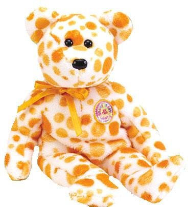 TY Beanie Baby - ALANI the Bear (BBOM July 2004)