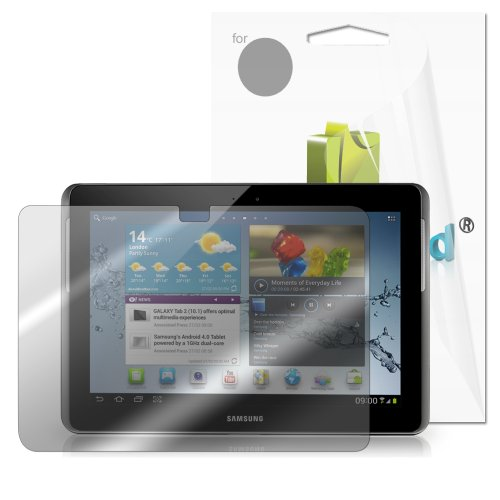 GreatShield Ultra Anti-Glare (Matte) Clear Screen Protector Film for Samsung Galaxy Tab 2 10.1 (3 Pack)