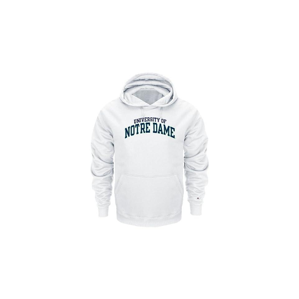 Notre Dame Fighting Irish White Champion Powerblend® Hood