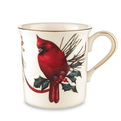 Lenox Winter Greetings Cardinal Mug