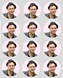 12 Olly murs rice paper fairy cup cake 40mm toppers pre cut decoration