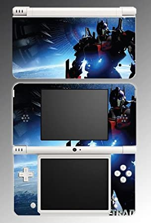 Transformers Optimus Prime Game Vinyl Decal Skin Protector Cover #3 for Nintendo DSi XL