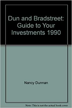 Dun and bradstreet guide to your investments 1990 nancy for Donald bradstreet