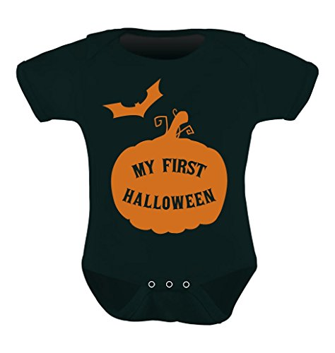 TeeStars - My First Halloween Baby Grow Vest - Cute Bodysuit Unisex Baby Onesie