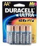 Duracell Ultra M3 MN1500 Battery Alkaline 1.5V AA Ref 7035028 [Pack 8]