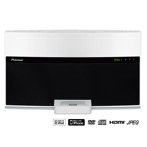Pioneer XW-NAV1-K Multi Region DVD system Speaker, Docks for iPod & iPhone 【海外仕様】