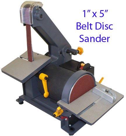 Find Cheap 1 X 5 Belt Disc Sander Wood Metal Hobbyist 3600 RPM
