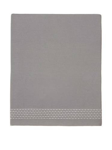 Vera Wang Charcoal Flower Flat Sheet Queen front-703676