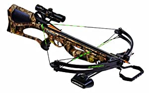 Barnett Quad 400 Crossbow Package (Quiver, 3 - 22-Inch Arrows and 4x32mm Scope) by Barnett Crossbows