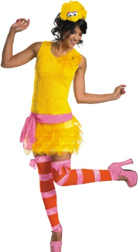 WMU 558966 12-14 Big Bird Sassy Female Costume