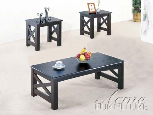 Discount Furniture Review 3pc Coffee Table End Table Set Espresso