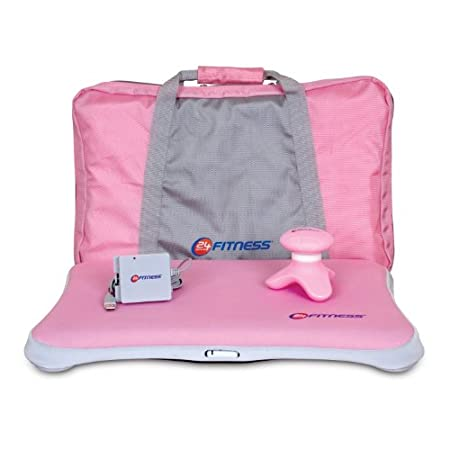 Wii 4-In-1 24 Hour Fitness Bundle - Pink