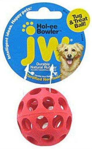 Jw Pet Company Mini Hol-Ee Bowler Dog Toy, Colors Vary
