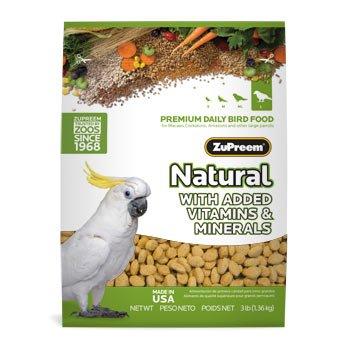 Cheap ZuPreem Classic AvianMaintenance Natural Bird Diet for Large Parrots, 3 lbs. (B001W7VZMW)
