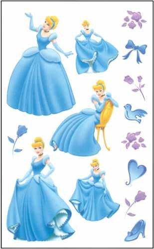 Disney Rub-ons - Cinderella - 1