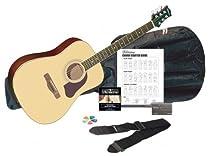 Silvertone  SD3000PAK NA Acoustic Guitar Pack, Natural
