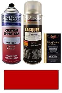 12.5 Oz. Splendor Red Spray Can Paint Kit for 1988 Subaru XT (726)