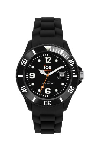 Ice-Watch Sili Forever Black Unisex Silicone Watch SI.BK.U.S