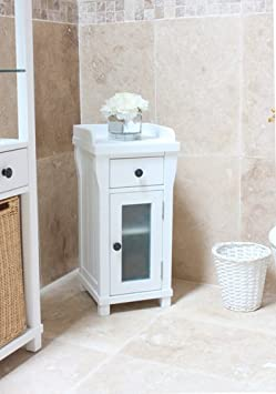 Hartford Painted furniture Closed Small Bathroom Unit