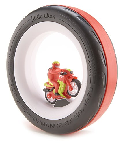 Little Tikes Tire Racers- Motorcycle - 1