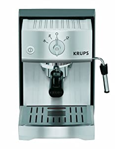 KRUPS XP5240 Pump Espresso Machine with KRUPS Precise Tamp Technology and Stainless Steel... by KRUPS