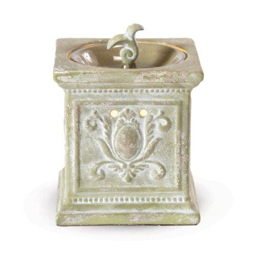 Filigree Garden Fragrance Warmer - Wax Melter By Ambiescents