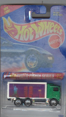 Hot Wheels 1999 335 HIWAY HAULER NEW PHOTO FINISH SERIES 4 of 4 STATUE OF LIBERTY 1:64 Scale Die-cast Collectible Car - 1