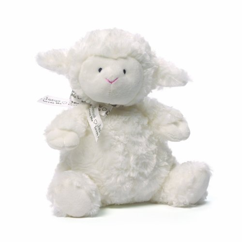 Gund Baby Chime Toy, Lena Lamb (Discontinued by Manufacturer)