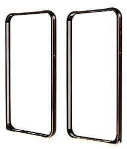 2dots Luxurious Aluminium Metal Side Bumper Case Cover for Samsung Galaxy J-7 Black Color
