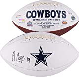 Amari Cooper Dallas Cowboys Autographed White Panel Football - Fanatics Authentic Certified - Autographed Footballs