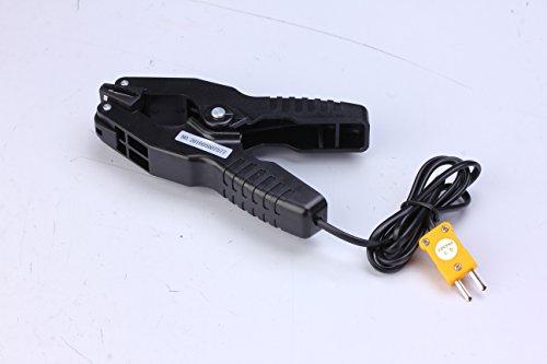 Perfect Prime-Morsetto per tubi, con sonda per temperatura K-Type Sensore termocoppia di & m, Intervallo di temperatura da - 40 a 200 °C/° F 393