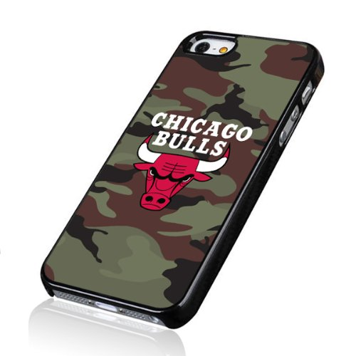 Migreat Gear Design NBA Team Chicago Bulls Logo Iphone 5/5s Plastic Hard Cover Case-a11 at Amazon.com