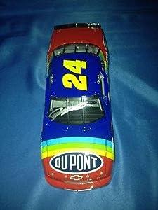 JEFF GORDON SIGNED Autographed 2012 DUPONT 1ST CUP CAR 1 24 Diecast COA - Autographed... by Sports Memorabilia