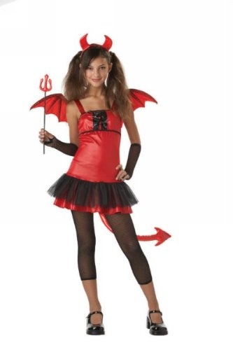 Tween Devil Grrrl Costume