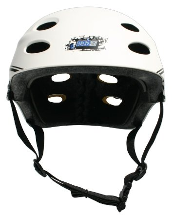 MBS Grafstract Helmet (White, Large/X-Large)