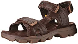 CAT Footwear Pathfinder Men\'s Sport Sandals, Salt Marsh, Size 9